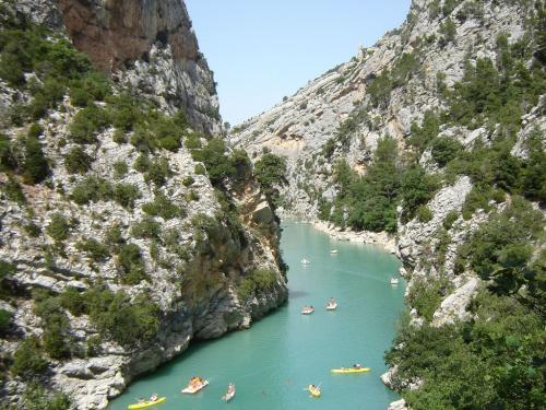 Gorges du verdon sites naturels montmeyan office de - Office tourisme moustiers sainte marie ...