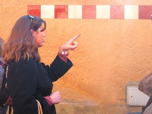 Sandrine BARBIER, Guide-conférencière
