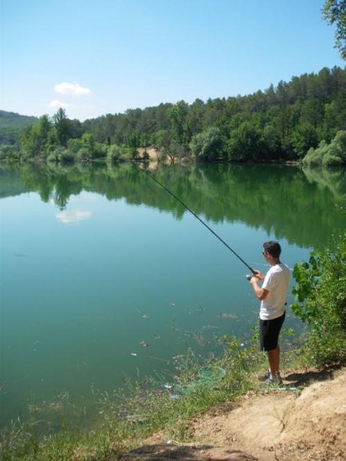 Pêche miraculeuse dans le lac de Carcès !