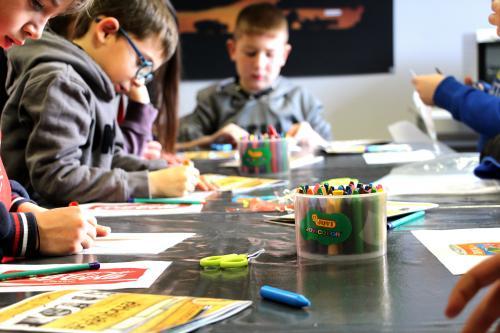 Atelier-enfant au Musée des Gueules Rouges