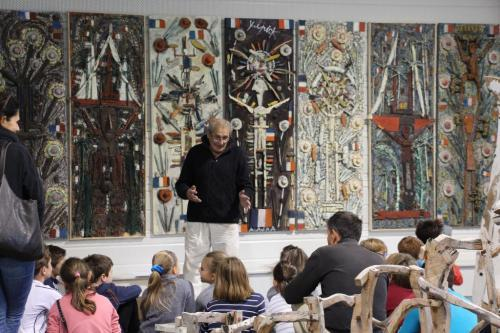 Atelier-enfant au Centre d'Art