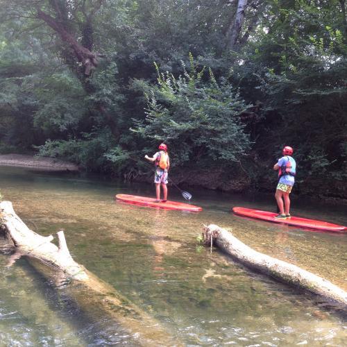 Location paddle sur l'Argens (4 km)