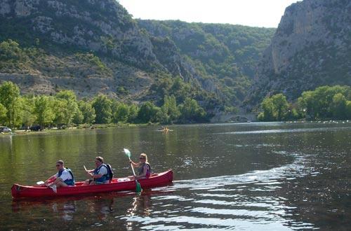 Location canoë dans le Verdon