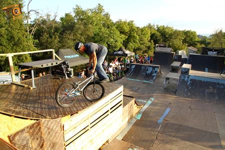 Parcours VTT Trial ou BMX