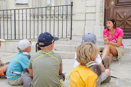 Expérience sensorielle dans la Cité des Comtes de Provence