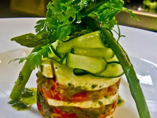 Recettes proven ales millefeuille de mozzarella di - Blog cuisine gastronomique ...
