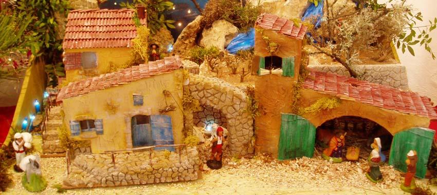 Célèbre Noël Provençal : crèches, santons, pastorales, fruits sec, blé de  KG93