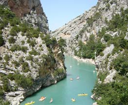 Gorges du verdon hydrospeed