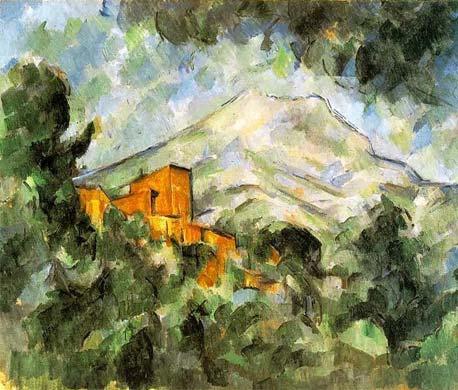 Paul Czanne Domaine Public Peinture Sainte Victoire