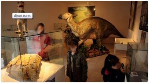 Exposition permanente sur les dinosaures